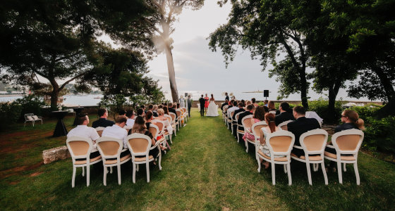 Villa Polesini Garden Wedding